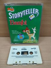 Walt Disney Audio Cassette Tape Bambi Storyteller RARE Good Condition