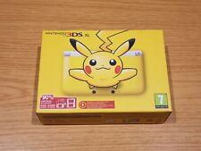 CONSOLA NINTENDO 3DS XL PIKACHU EDITION YELLOW CONSOLE AMARILLO POKEMON 3 DS LL