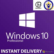 Windows 10 Pro 32/64bit Digital Download Licence Key INSTANT DELIVERY