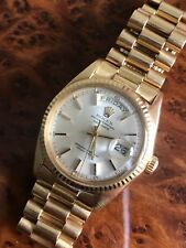 RARE Rolex Day-Date President 1803 18k Yellow Gold Men's Watch