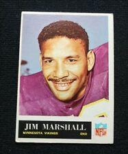 1965 Philadelphia Jim Marshall Minnesota Vikings Football Card #107 - EX