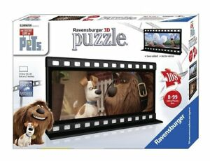 "Ravensburger ""The Secret Life of Pets"" Filmstrip 1 Two Sided Puzzle (108 Piece)"