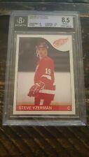 1985-86 O-Pee-Chee Steve Yzerman #29 BGS 8.5 NM-MT+ Hockey Card