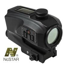 Vism SPD Solar Reflex Red Dot Sight Scope NEW Sun Powered With Back Up Battery