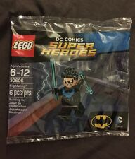 LIMITED EDITION EXCLUSIVE NIGHTWING LEGO MINIFIGURE 30606