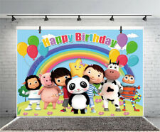 Little Baby Bum Photography Backdrop Kids Birthday Party Prop Background Decor