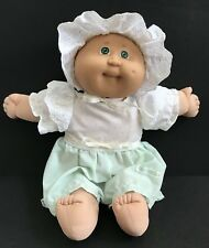 Vintage Cabbage Patch Kids Premie by Coleco 1985 Bald GREEN EYES