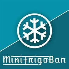 MiniFrigo Bar Frigorifero con FREEZER a 2 Porte in Classe A+ Piccolo Congelatore