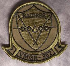 Embroidered Military Patch USMC Marine VMGR-352 Raiders NEW hook & loop