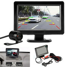 "1 pcs 4.3"" TFT LCD Monitor Mirror Car Reverse Back Up Camera Kit Night Vision"