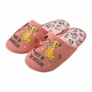 Avon Disney Lion King Slippers // Pink Coral Simba - BNIP