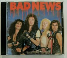 Bad News by Bad News CD 1989 Rampage - Producer: Brian May Rock Comedy
