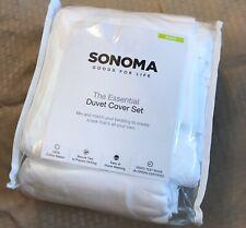 New ListingSize King White Duvet Set, Sonoma New In Package