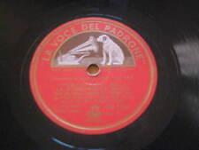 """10"""" 78 RPM vinyl TOTI DAL MONTE - TITO SCHIPA DON PASQUALE LA SONNAMBULA Ghione"""