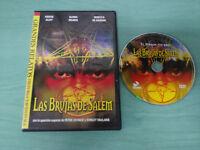LAS BRUJAS DE SALEM PETER USTINOV DVD + EXTRAS SLIM CASTELLANO ENGLISH TERROR