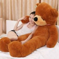 "Teddy Bear only cover Giant Sleepy case no PP cotton Stuffed Toy dolls 63"" 160cm"