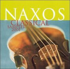 Naxos Classical Sampler 2001 by Robert Barto, Kazunori Seo, Maria Kliegel CD NEW