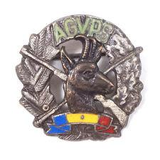 """Vintage AGVPS Fishing & Hunting Federation Romania Pin Badge .80"""""""