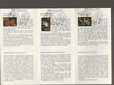 Netherlands Antilles official postal service FDC carnet 1977 flowers