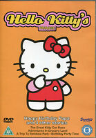 HELLO KITTY'S PARADISE DVD - HAPPY BIRTHDAY PAPA AND 4 OTHER STORIES  (KIDS)