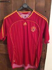 Poco Común Fútbol Camisa Vintage Original Equipo Nacional España 2006-07 Home