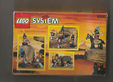 Sale1993 LEGO CASTLE MEDIEVAL KNIGHTS Minifigure Set 6105 SEALED IN BOX MUST SEE