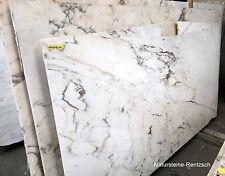 weisse Marmorplatte Wandverkleidung Naturstein Duschwand für Bad Wandplatte NEU