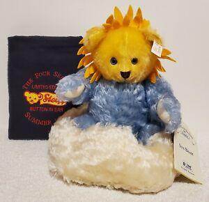 """Steiff Sunbeam the Summer Bear, LE 5000, 665288, 1997-99, 9"""" tall, Mohair, TA"""
