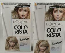 2 x L'Oreal Paris Colorista Hair Colour & Dye Remover 60ml