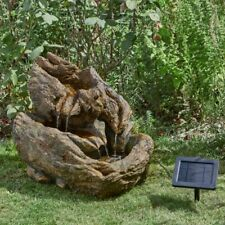 Smart Solar Wychwood Falls Water Feature