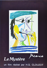 Affiche originale entoilée - HOMMAGE à PICASSO - Un film de HG CLOUZOT