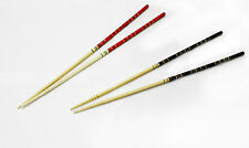 """2 Pairs 33 cm ( 13"""" )  Chinese Japanese Bamboo Fry Noodle Cooking Chopsticks JW"""
