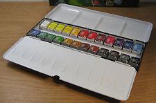 Daler Rowney Artists Acquerello qualità 24 Half Pan