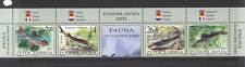 Yugoslavia 2002 Fish/Nature/Wildlife 4v stp +lbl b8647d