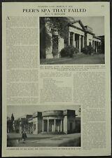 Ivanhoe Baths Ashby De La Zouche 1959 1 Page Photo Article