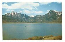 GRANT LAKE CA High Sierra Vtg Mono County Postcard