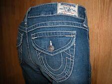 True Religion JOEY Light Wash Twisted Flare Women's Skinny Jeans 30x32 $149