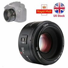 Yongnuo 50mm F1.8 Large Aperture Auto Focus Prime Fixed Lens for Canon EOS EF UK