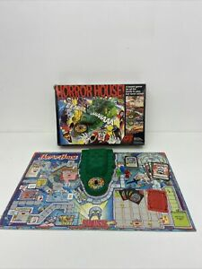 Horror House Board Game Vintage Classic Action GT Incomplete RARE S4