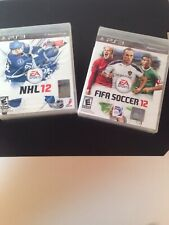 SEALED NHL12 and FIFA SOCCER12 PS3 Games