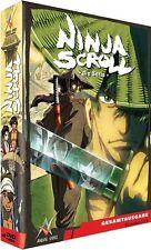 Ninja Scroll ( Anime auf Deutsch ( 4 DVDs Komplette Folgen 1-13 ) NEU OVP