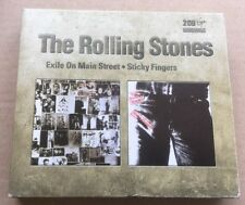 The Rolling Stones - Exile On Main Street + Sticky Fingers 2 x Cd Box Set Rare!