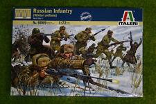 RUSSIAN INFANTRY WINTER uniformi SECONDA GUERRA MONDIALE 1/72 ITALERI 6069