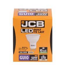 5 x Ampoule 5w LED GU10 100deg 4000k blanc froid 370lm (JCB S12499)