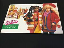 1990#Barbie Doll United Colors of Benetton  Mattel STORE DISPLAY RARE#**