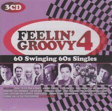 [BRAND NEW] 3CD: FEELIN' GROOVY 4: 60 SWINGING 60s SINGLES: VARIOUS ARTISTS
