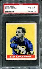 1948 Leaf #1 Sid Luckman RC PSA 4 Chicago Bears HOF --