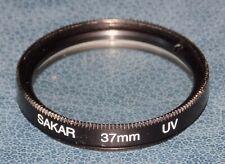 Sakar 37mm Fit UV Light Filter