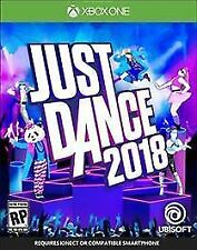 Just Dance 2018 (Microsoft Xbox One, 2017) - Excellent Condition