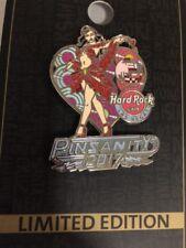 Hard Rock Cafe Las Vegas 2017 PinSanity #13 Sexy Red Queen Heart Disco Girl Pin